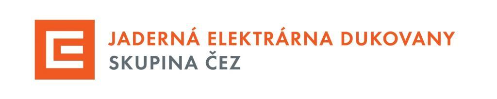 Logo JE Dukovany