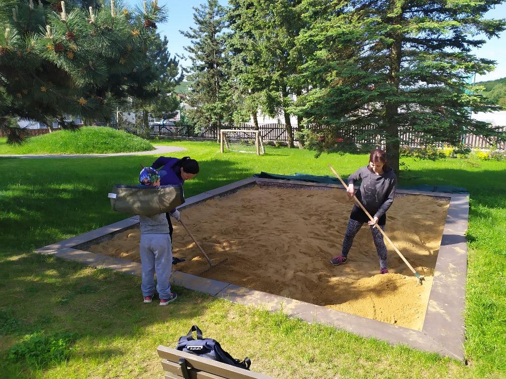Údržba zahrady 2021